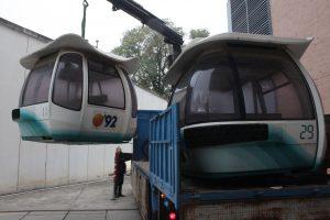 transporte de telecabina expo92